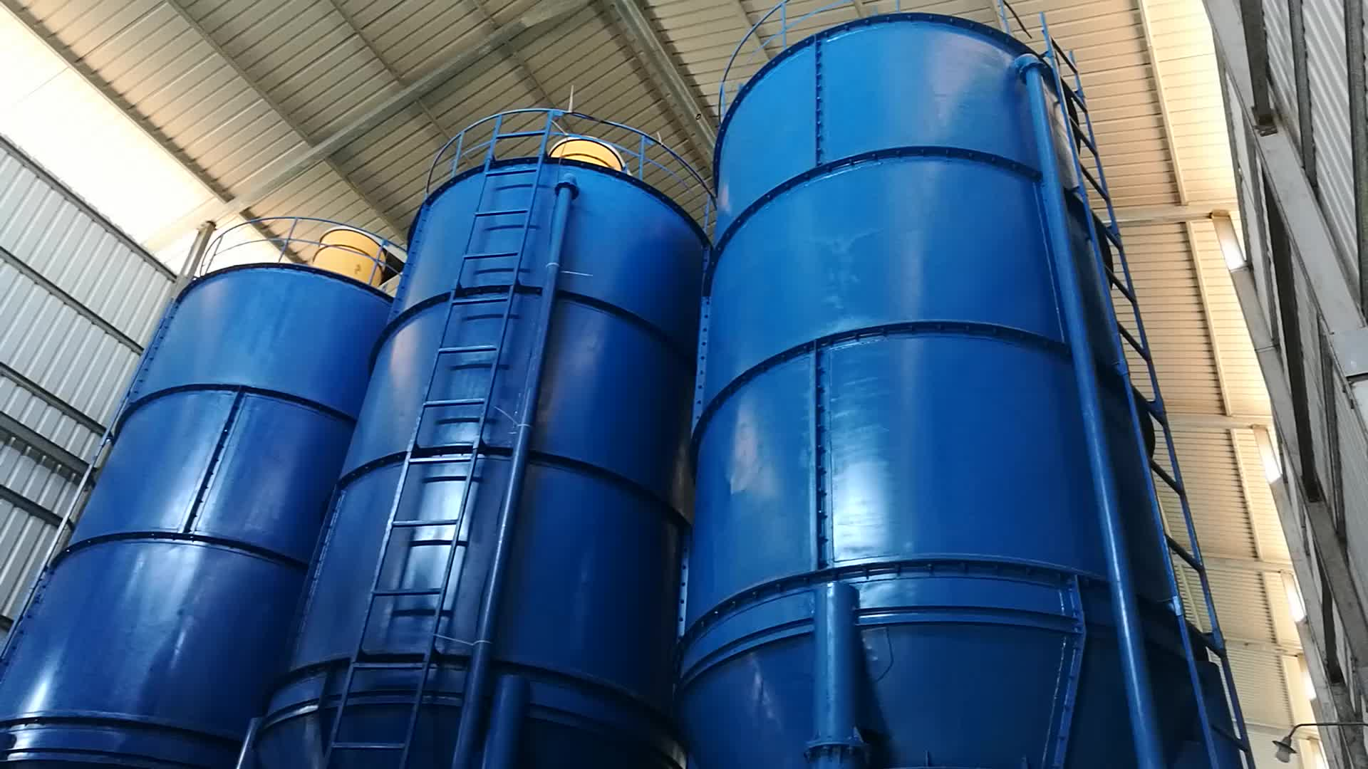 Bolted 150t 100ton concrete fly ash cement storage silo for sale