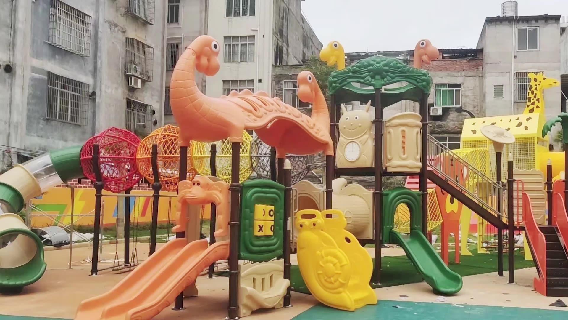 Jardim de infância preschool children slides parque de diversões para venda