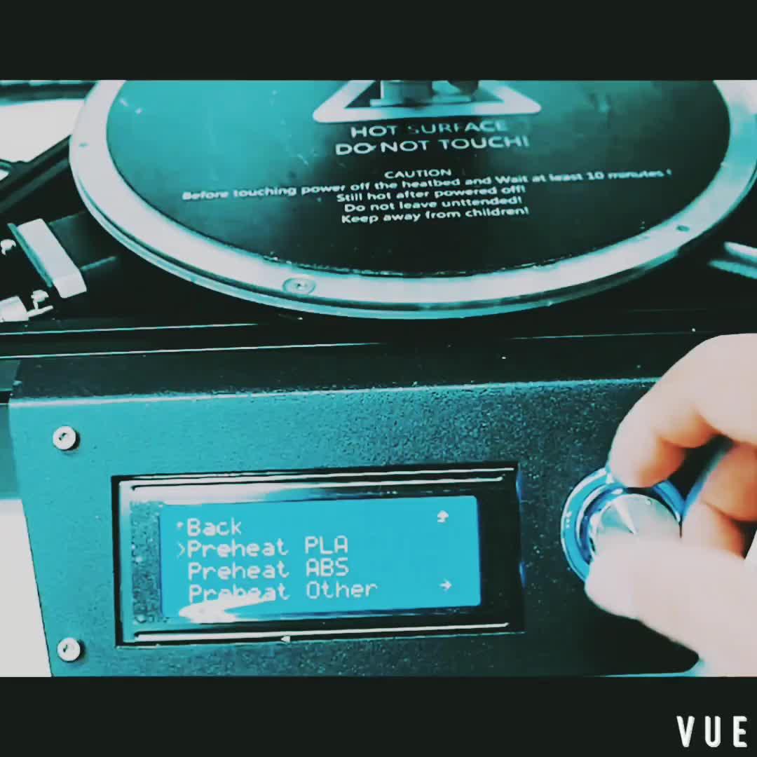 Fabriqué en HK Mini BRICOLAGE ensemble Haute Vitesse Delta 3D Imprimante