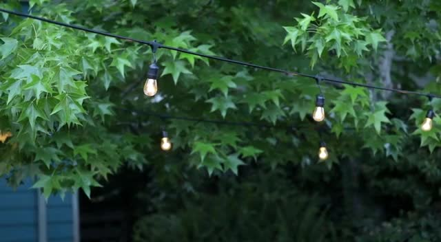mini E27 Wholesale novelty low voltage head warm white decoration hanging outdoor patio edison led globe bulbs string lights