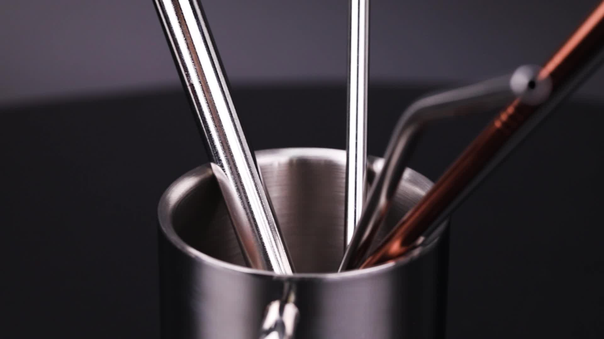 Haute Qualité Personnalisé En Métal Tasse À Boire Tasse de Voyage 304 Tasse à Café En Acier inoxydable avec Double Paroi
