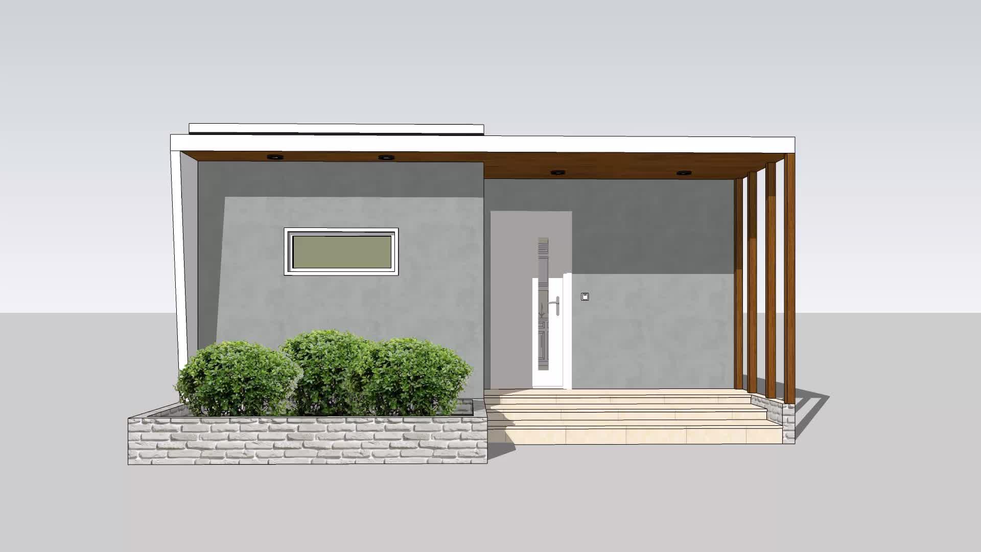 UPS قبل صنع الذاتي بناء التكنولوجيا الجديدة الراقية تصميم منازل الاسمنت EPS جاهزة للشحن