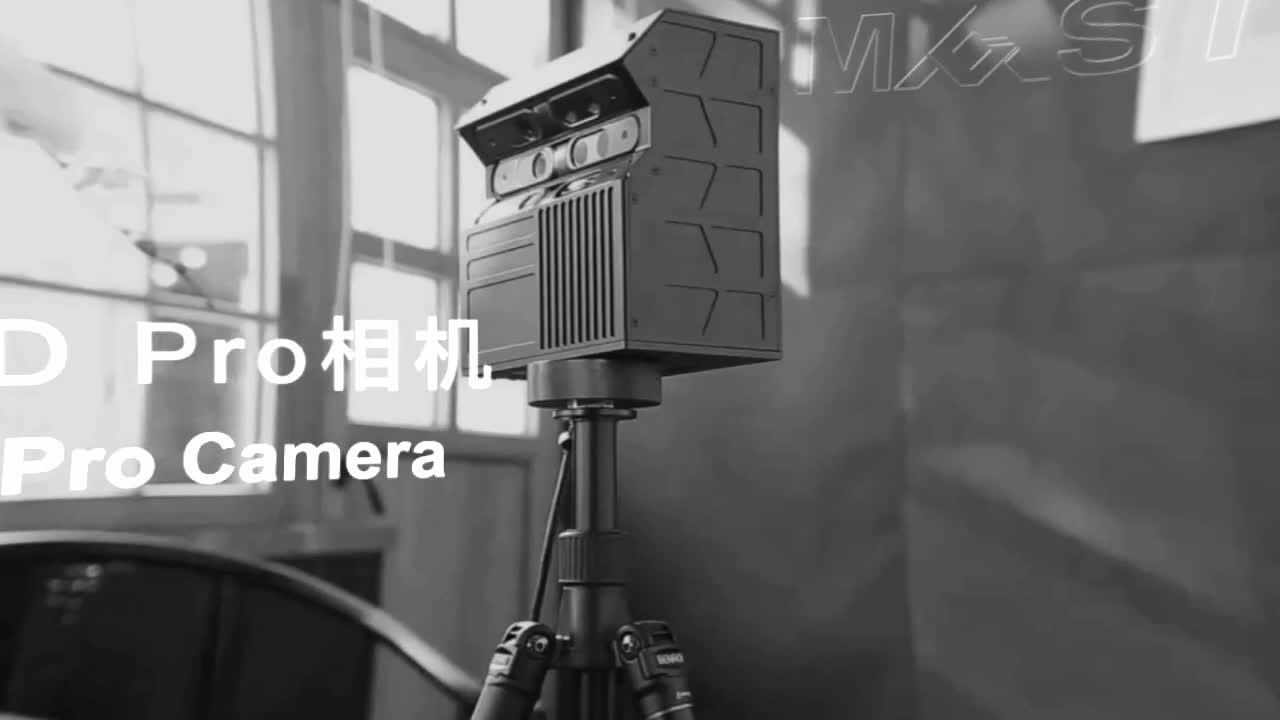 3D Model Warna-warni Penciptaan untuk Immersive VR Tour 3D Ruang Scanner