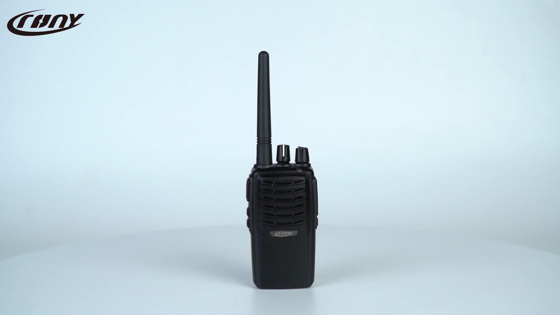 Alta Qualidade Longa RangeTwo Comunicação Via Rádio Handy Handheld Sem Fio Uhf FM Transceptor Walkie Talkie Compadrio CY-5800