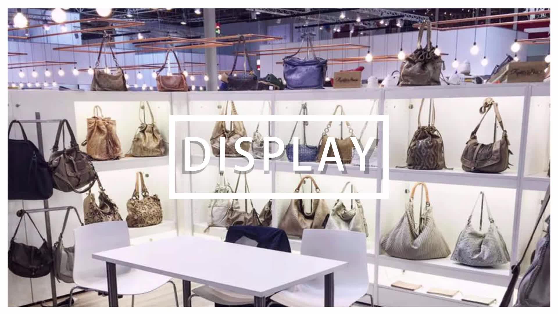 Toptan Cilalı Altın Asılı Çanta çanta askısı Tutucu Ekran Standı