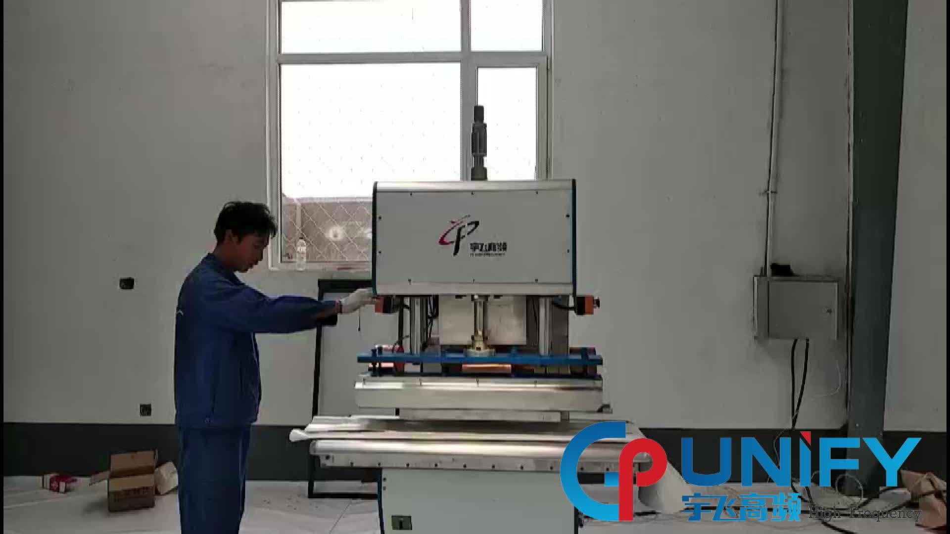 Yüksek frekanslı PVC kaynak makinesi elektro spor takım elbise ve kas eğitim takım elbise
