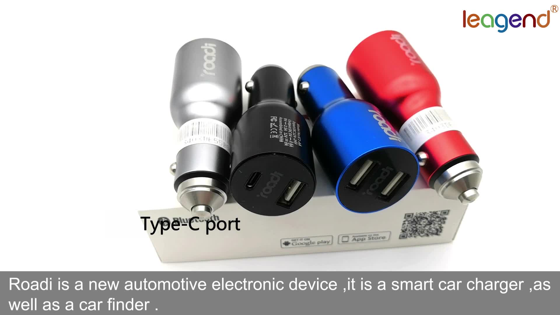 Smart car wireless phone charger automatic  dual port  usb bluetooth charger fast