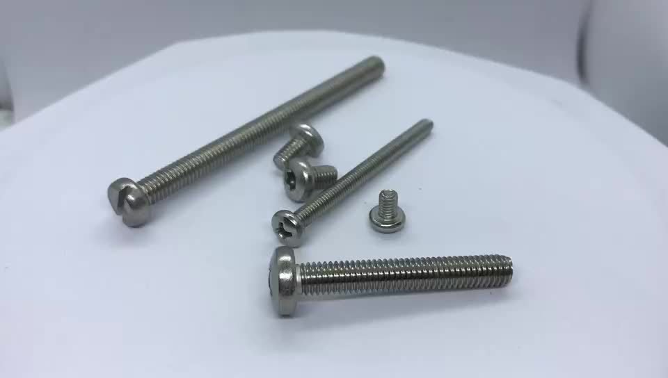 Phillips pan head machine screw Manufacturer direct selling