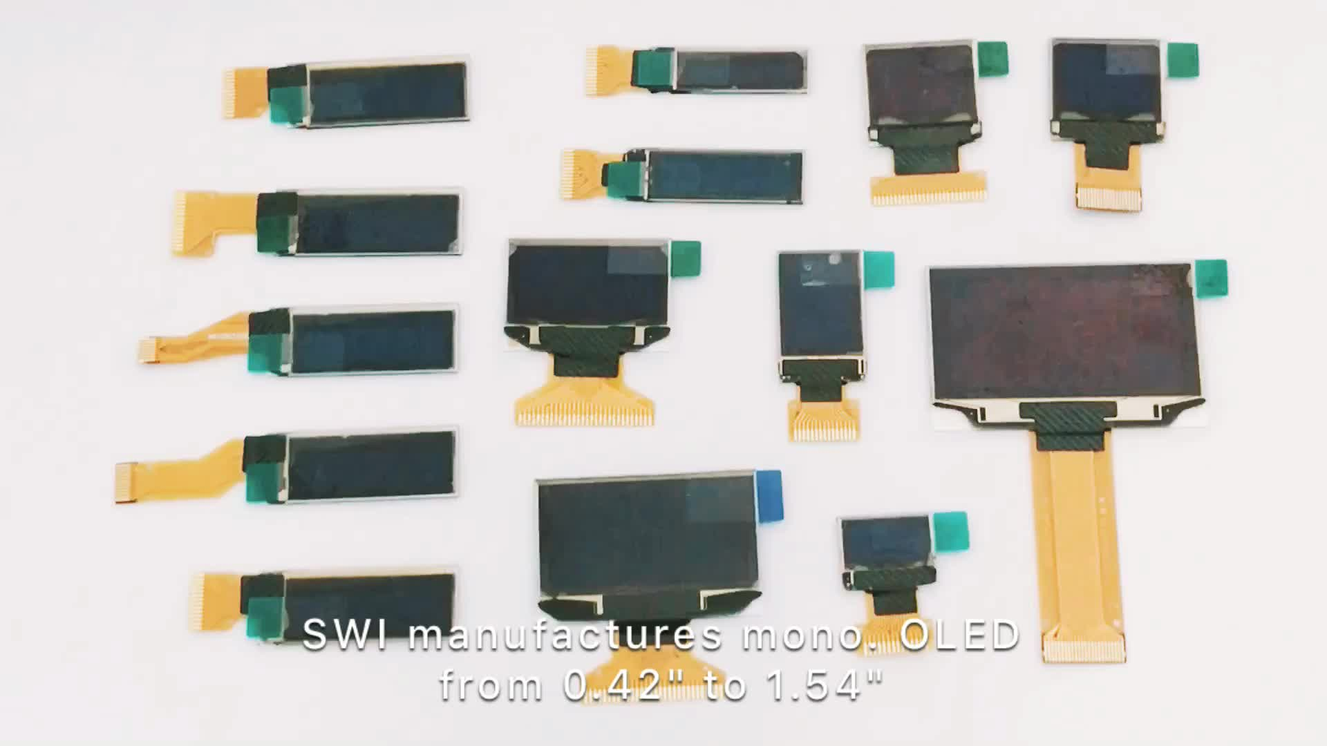 128x 80 0.78 SPI 13pin OLED TFT AMOLED Display