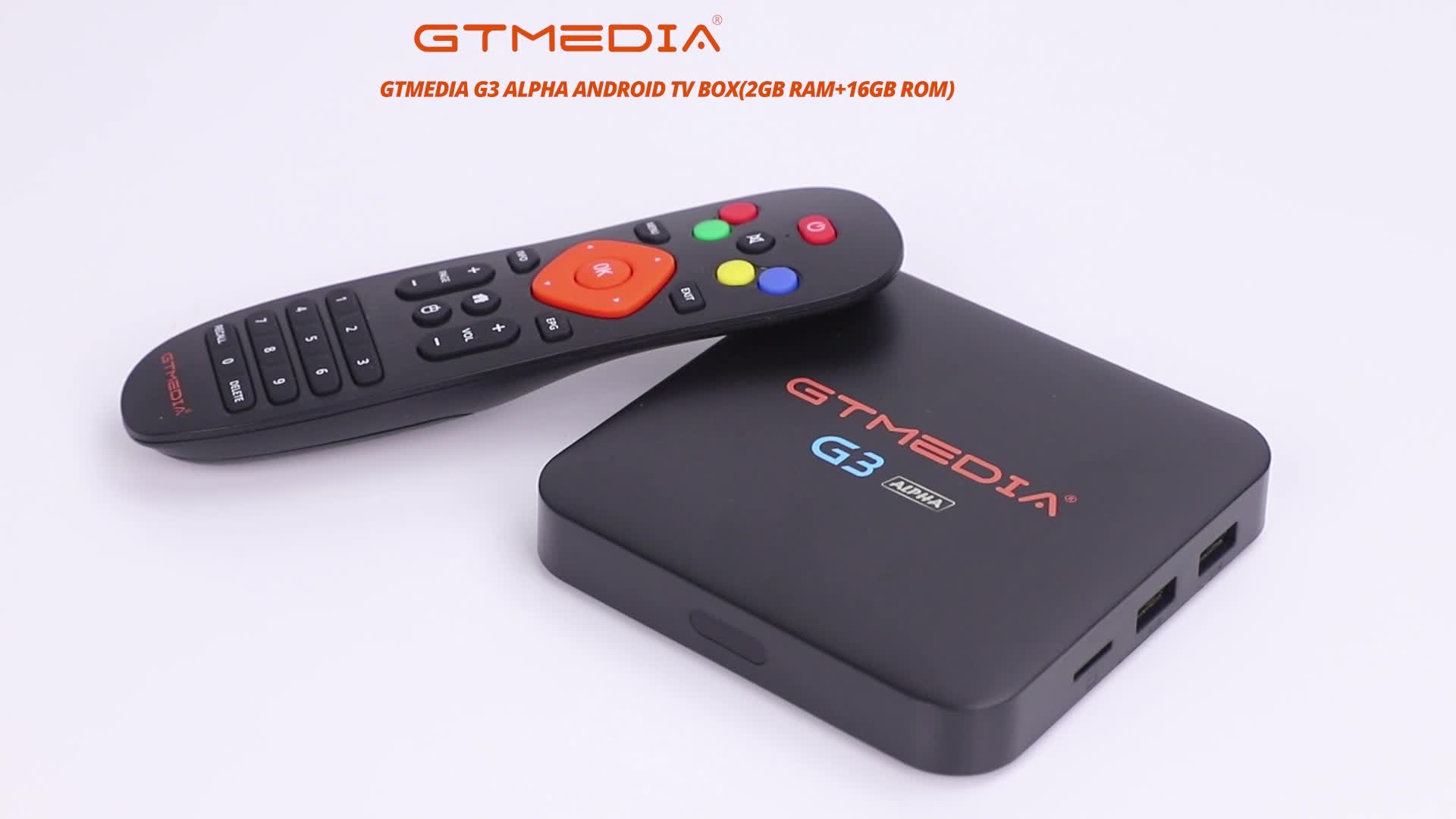 GTMedia G3 Alpha Smart Media Player Free Internet Searching Support IPTV S905X 2G + 16G Android TV Box with AV Output