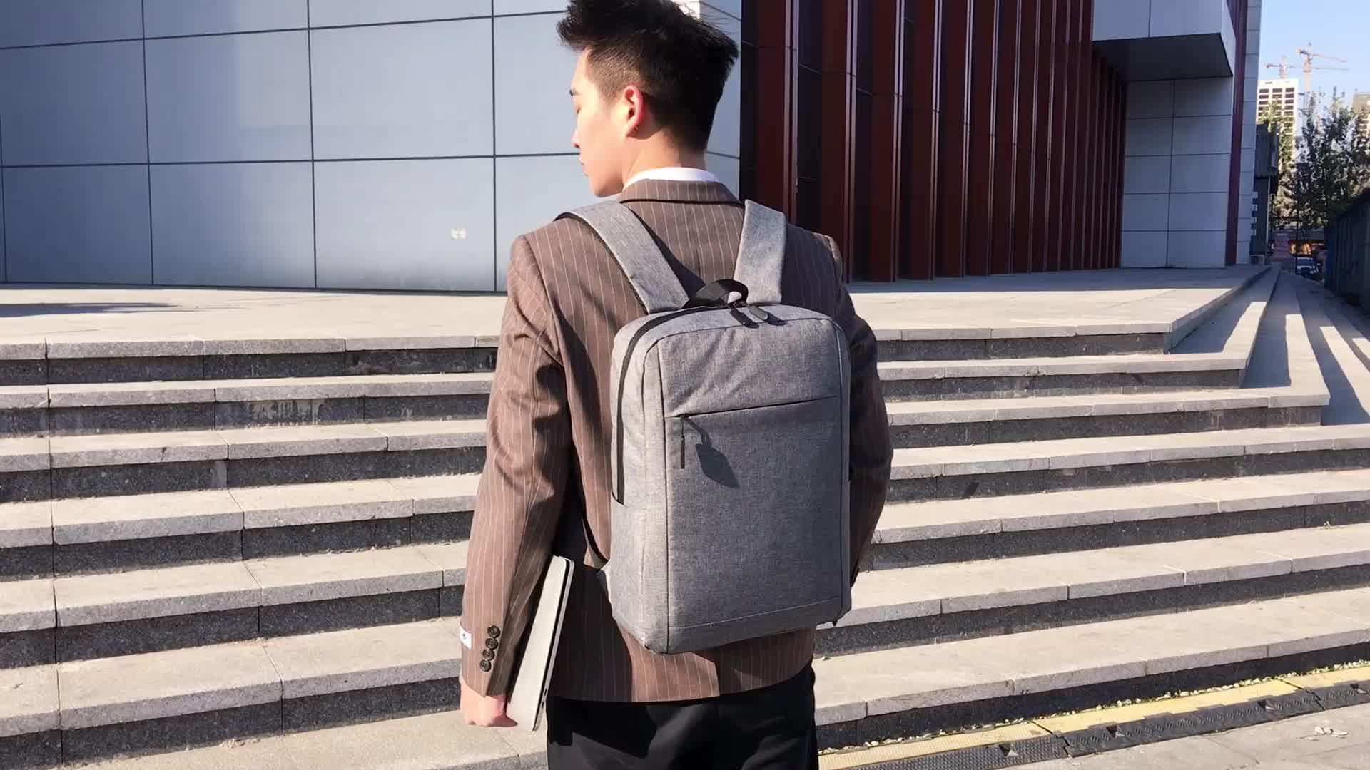 Waterdichte Lichtgewicht Mode Mannen Rugzak Kantoor Zakelijke Computer Tassen Laptop Rugzak
