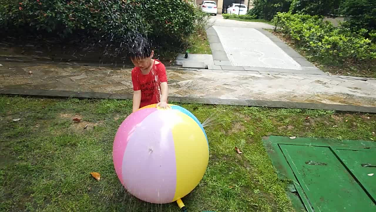 Inflatable Water Spray Ball