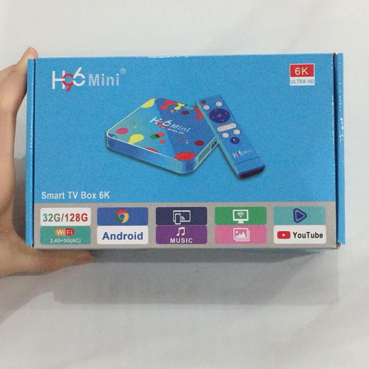 2019 새로운 안드로이드 9.0 4GB 32GB H96 미니 Allwinner H6 쿼드 코어 6K oem tv 상자