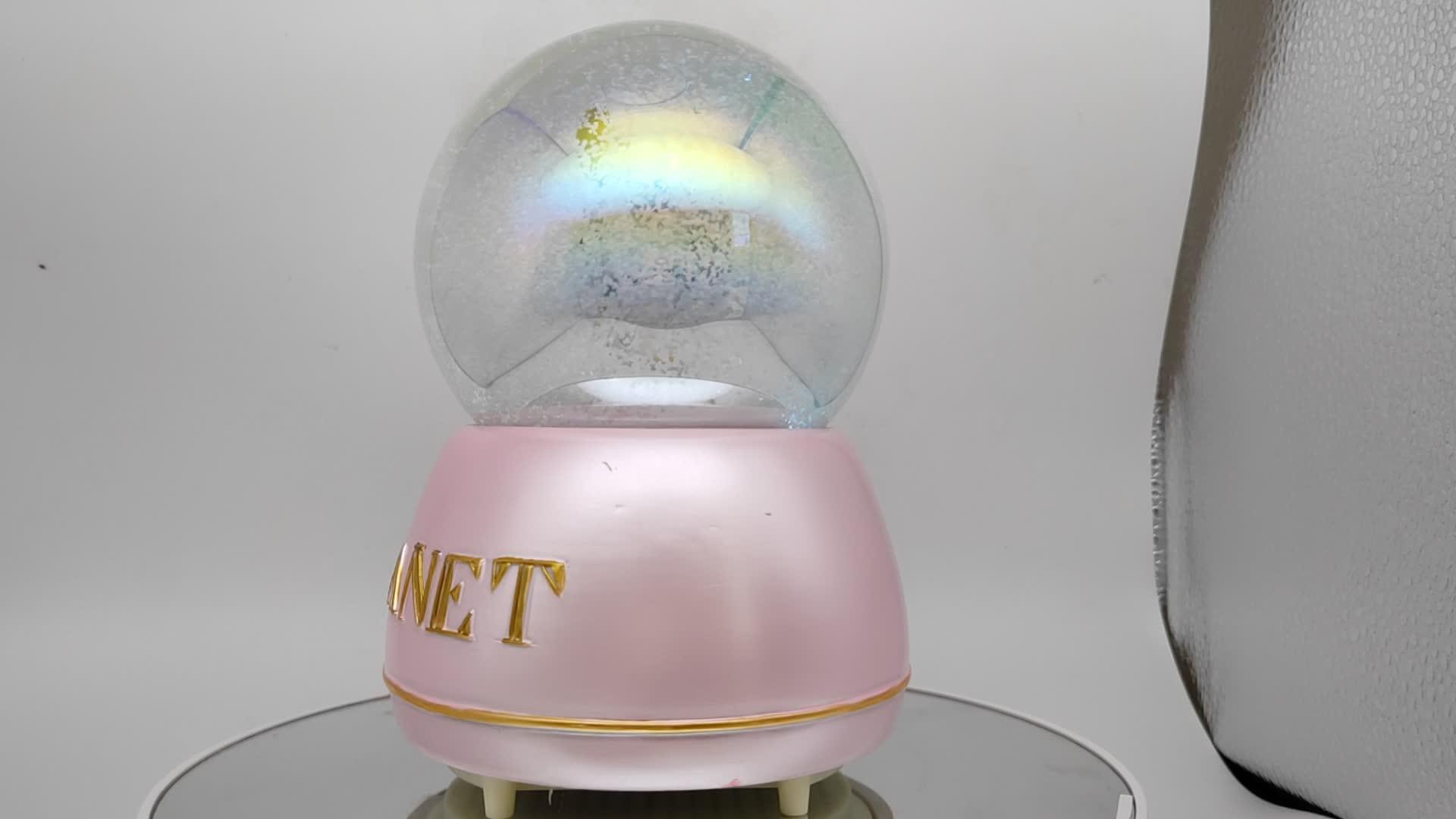 หิมะลูกโลกลูกบอลหิมะราคา Custom snow ball