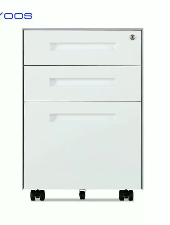 home office 2 box 1 movable file drawer 3 drawer mobile steel storage filing cabinet