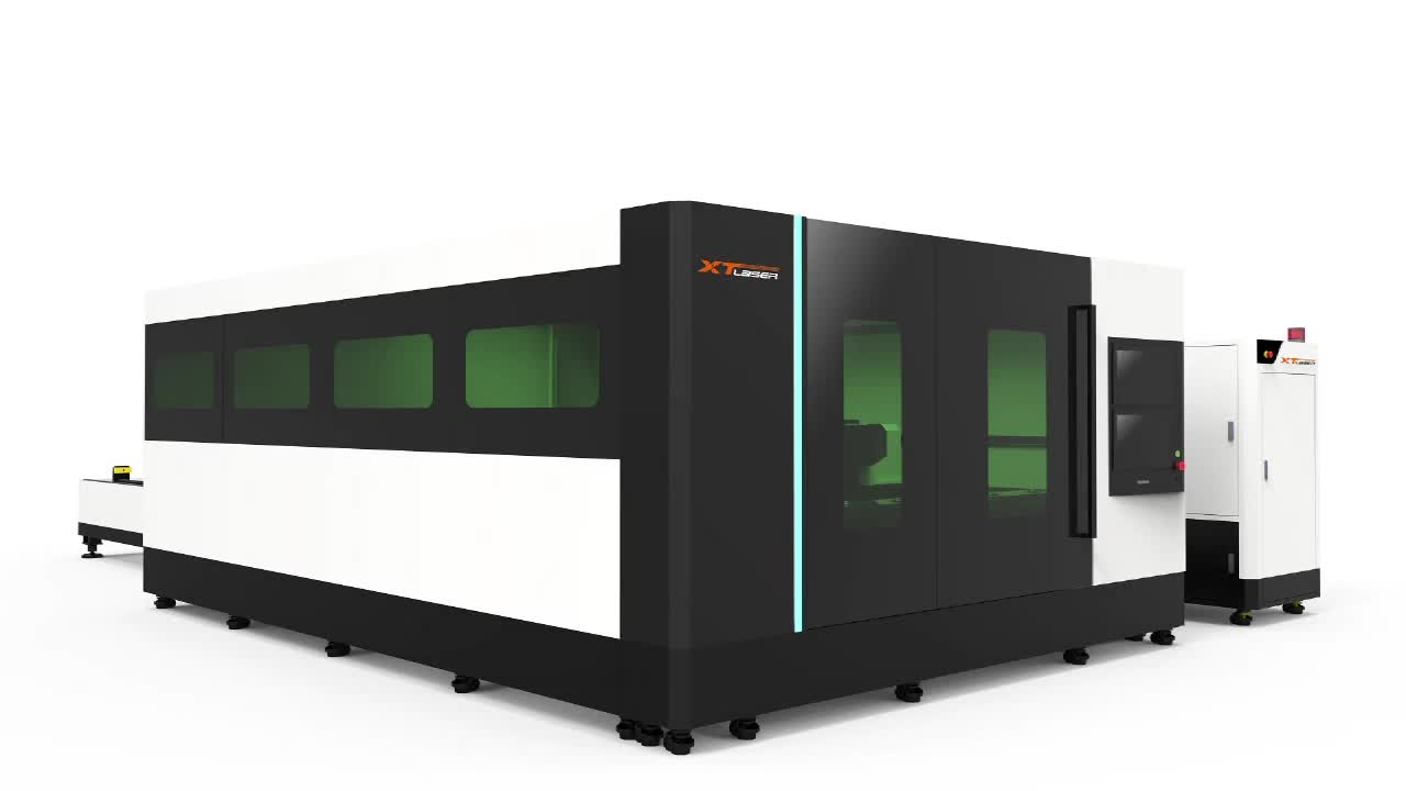 Cleaning fiber laser cutting machine for metal laser cutter stainless steel cut 1000w power