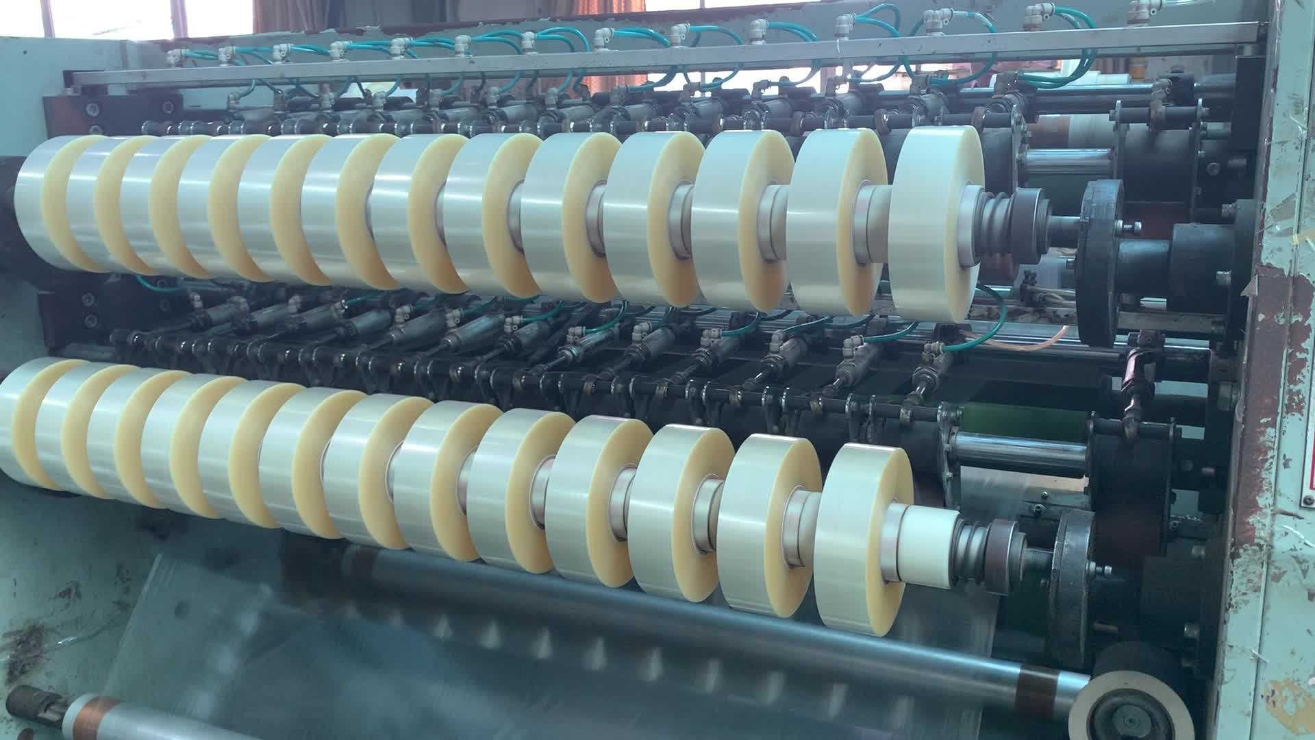 BOPP Hot Melt Packing Tape Machine Roll For Automatic Packaging 48mm x 1000yds