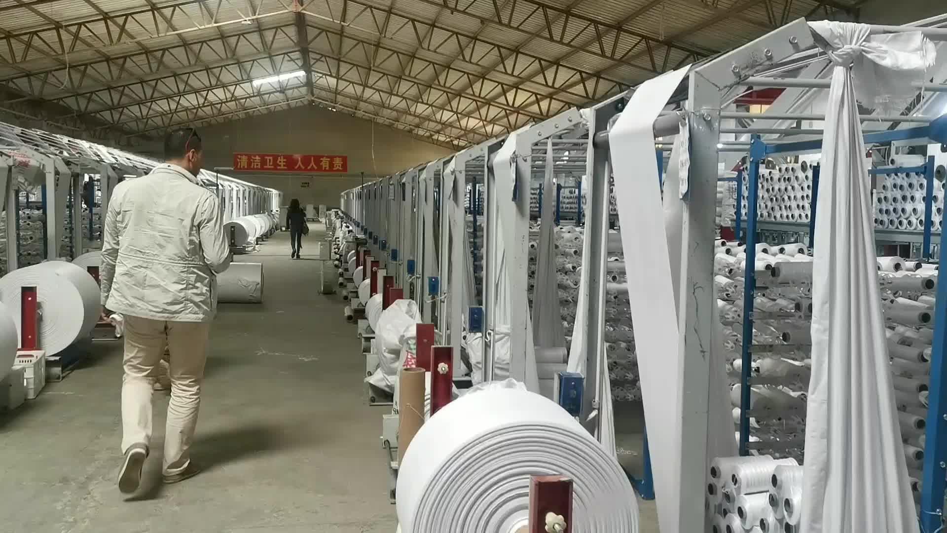 Tela tecida Dapoly do saco do arroz do fabricante dos sacos do preço barato de alta qualidade para sacos do trigo