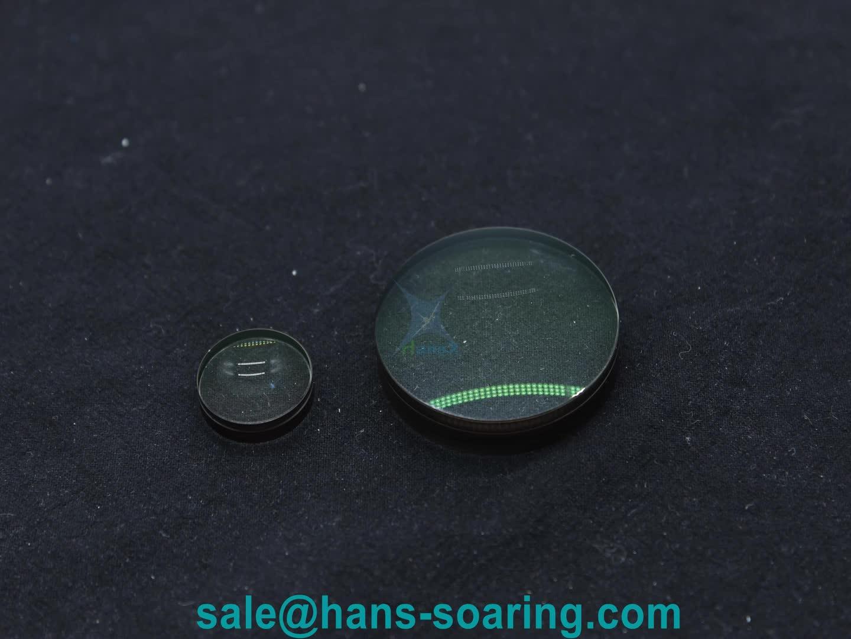 Custom made hot sale flat glass lens