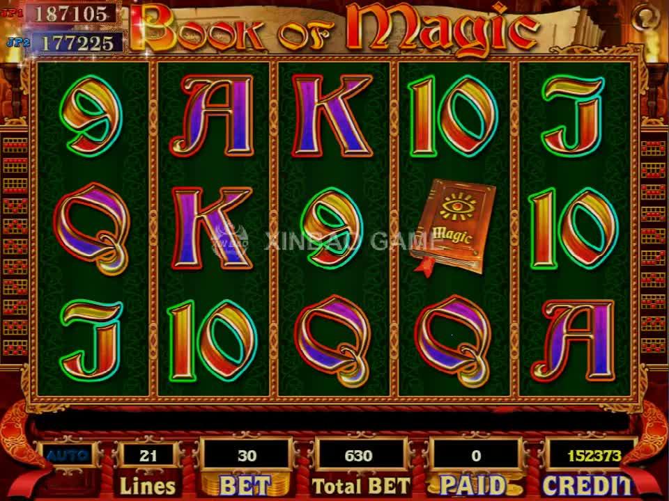 2019 Hottest Slot Para gabinete máquina de jogo de pesca com o Livro de Magia jogo de tabuleiro