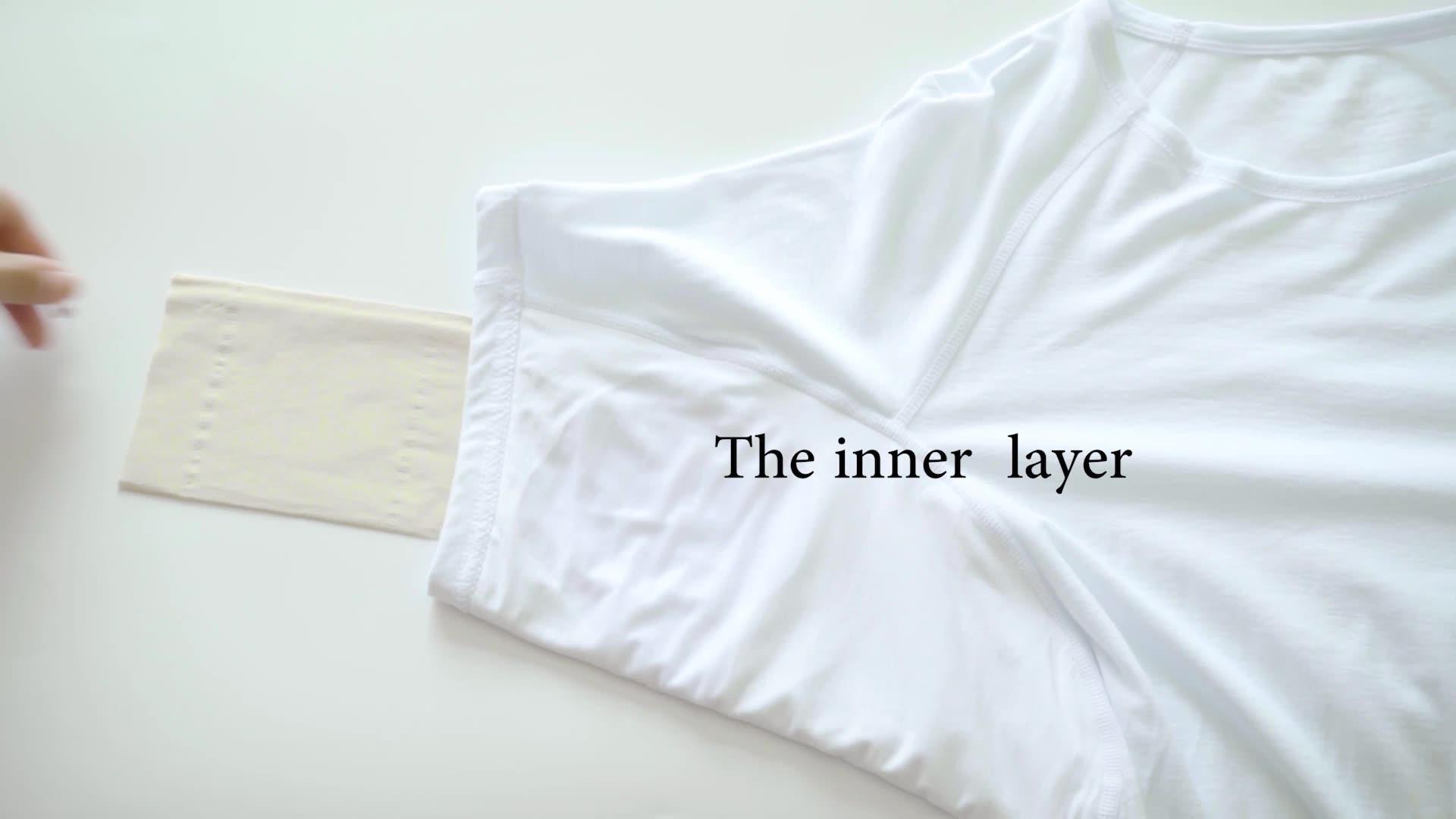 men's sweat proof padding undershirts