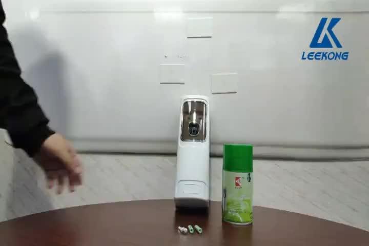 Automatische parfum dispenser aerosol wandmontage luchtverfrisser dispenser