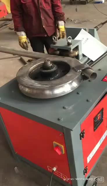WG76 otomatik boru bükme makinesi çelik boru bender mobilya