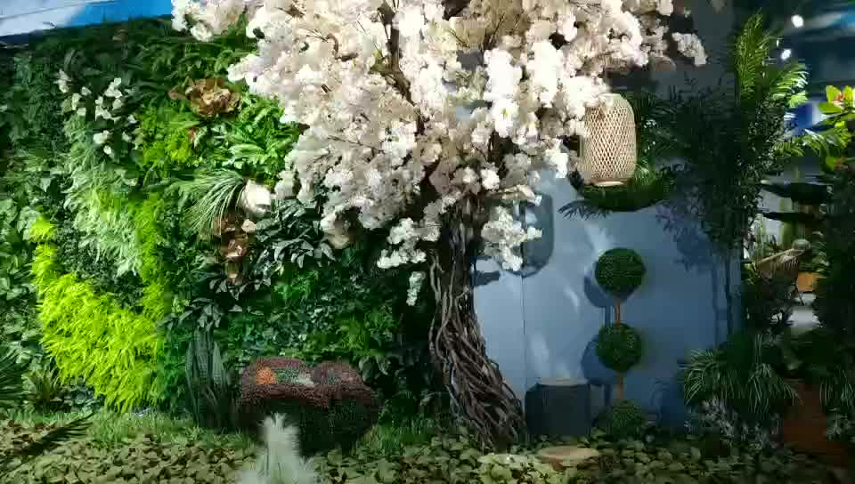 Artificial White Wisteria Flower Tree Big Tree for Wedding Party Decoration
