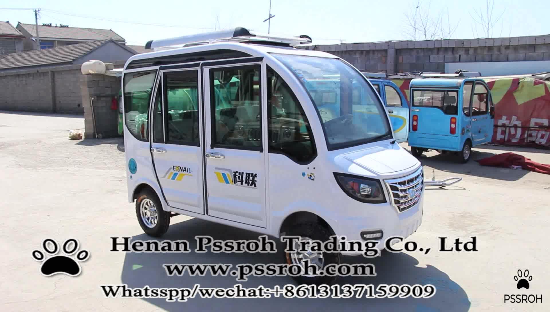 Famoso di marca elettrico mini pannello solare auto elettrica aggiungendo auto made in China