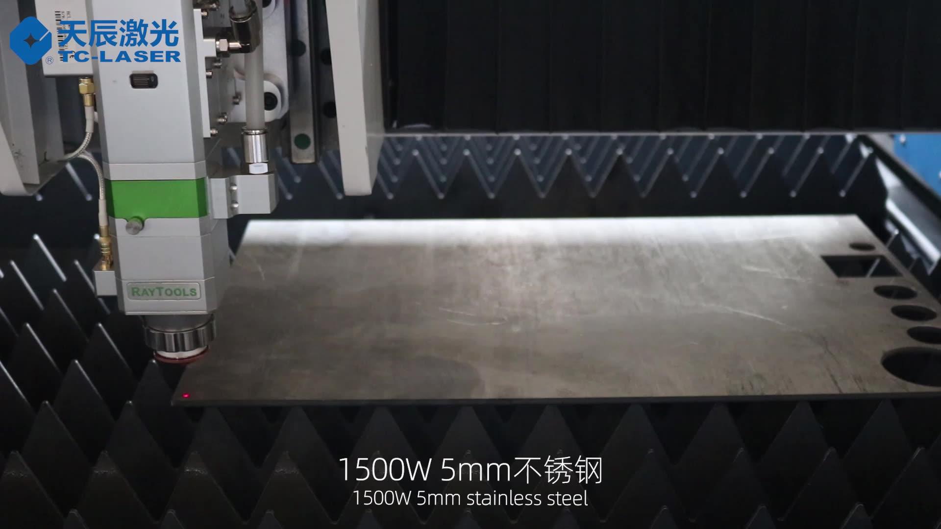 1530 CNC Laser Manufacturer 1000w 2000w Protected Metal fiber cutting machine