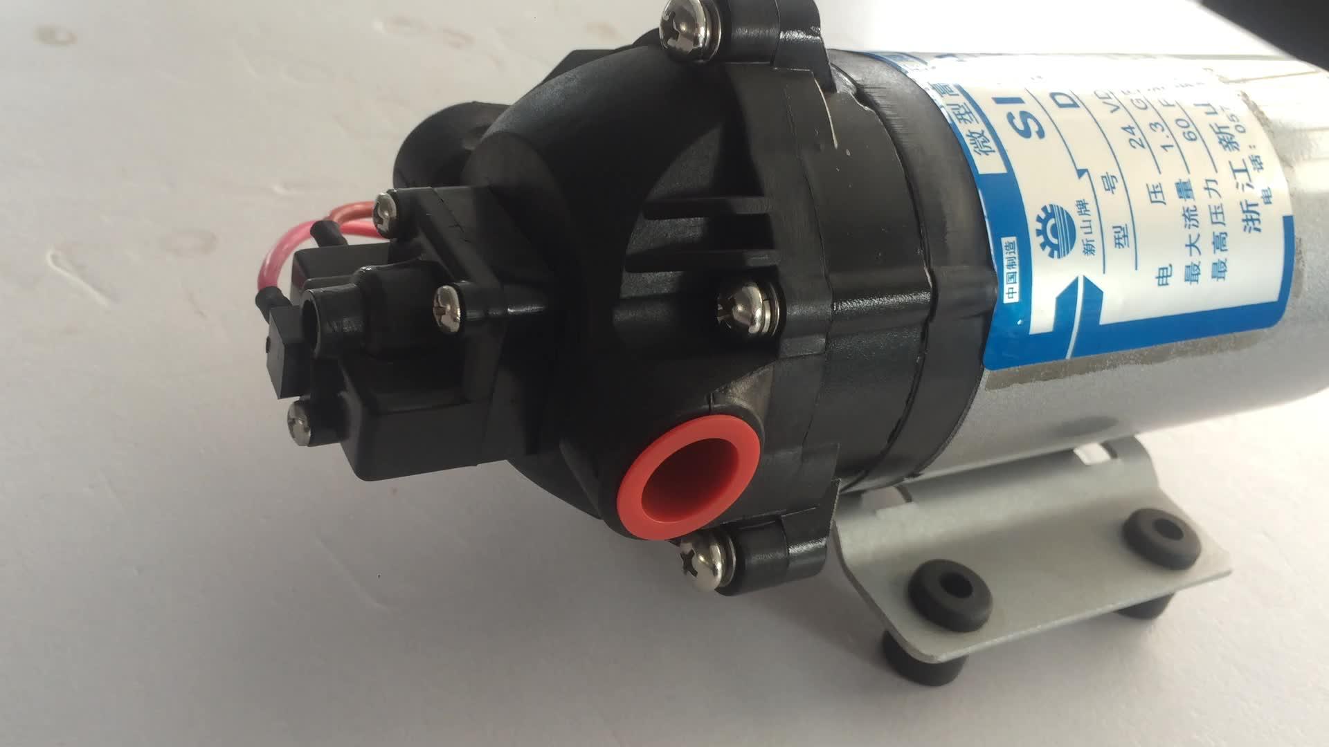 SISAN DP-60 high quality manufacturer 100 Psi dc 12v 24v high pressure solar water pump for car wash