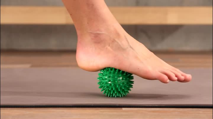 Release Foot Hand And Back PVC Spiky Massage Ball Set