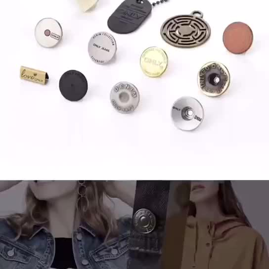 Custom Logo 4-holes Natural Horn Coat Suit Sewing Buttons