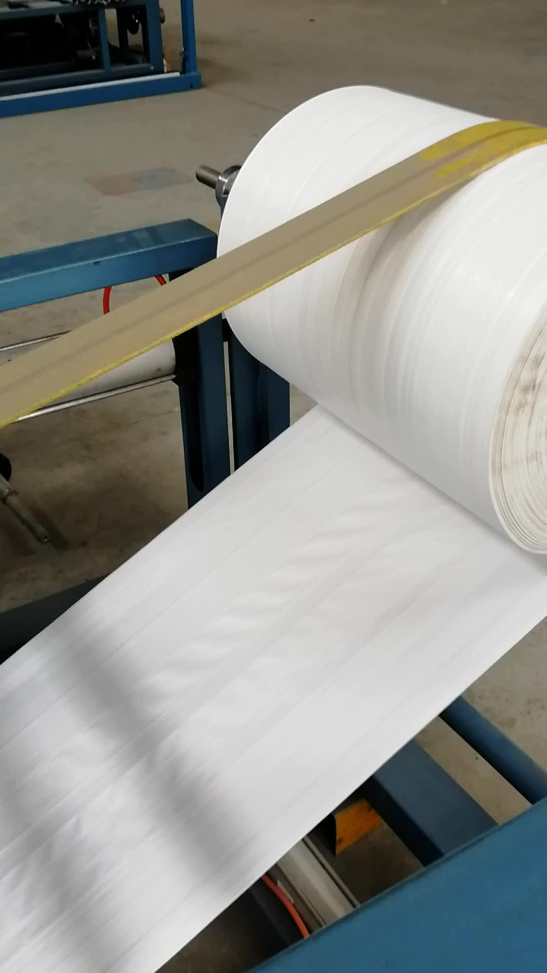 PE bolsa de película de corte y de la inserción y máquina de coser
