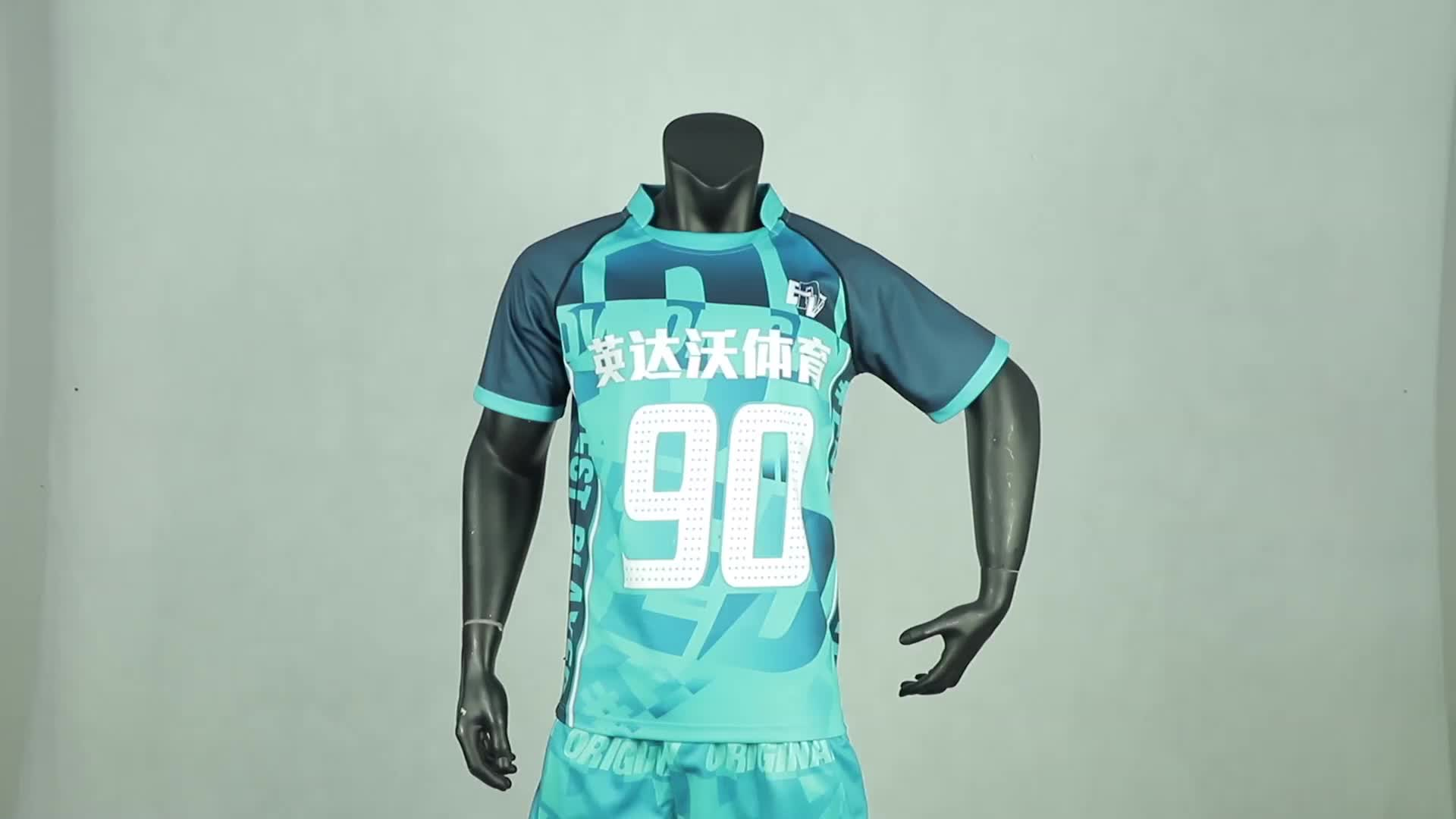 Изготовленный на заказ последний дизайн (джиу джицу), сублимированное толстые Новой Зеландии регби рубашка Лига майки форма для продажи