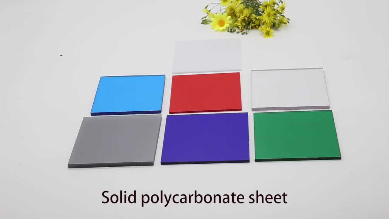 Good Price Fire Retardant Thin Polycarbonate Sheet For Wall