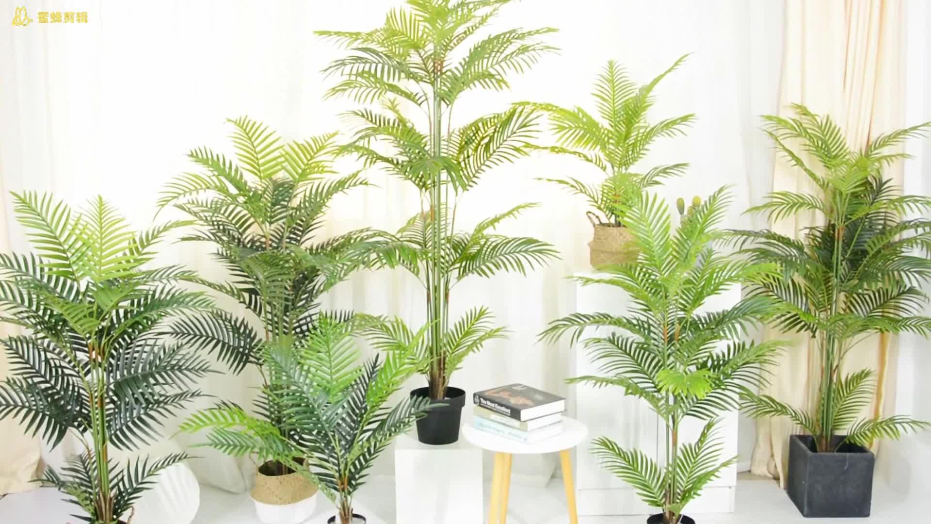 4ft Arec Artificiel Palmier en Pot pour La Décoration Intérieure plantes D'intérieur Artificiel Arbre Palm