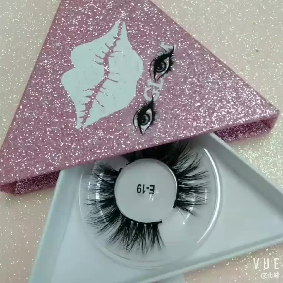 2018 new style wholesale 3d mink eyelashes faux mink lashes individual eyelash extensions private label Chinese vendor D119