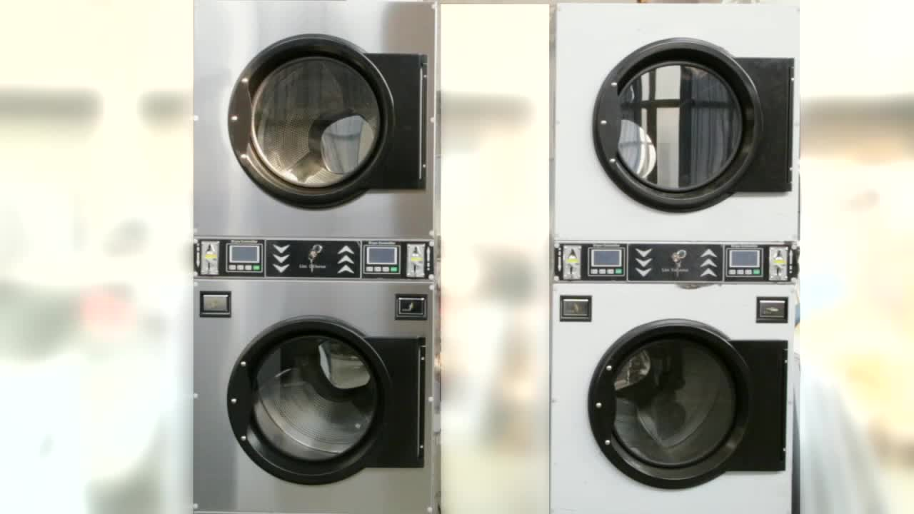 Commerciale carta equipaggiamento lavanderia operated lavanderia lavatrice