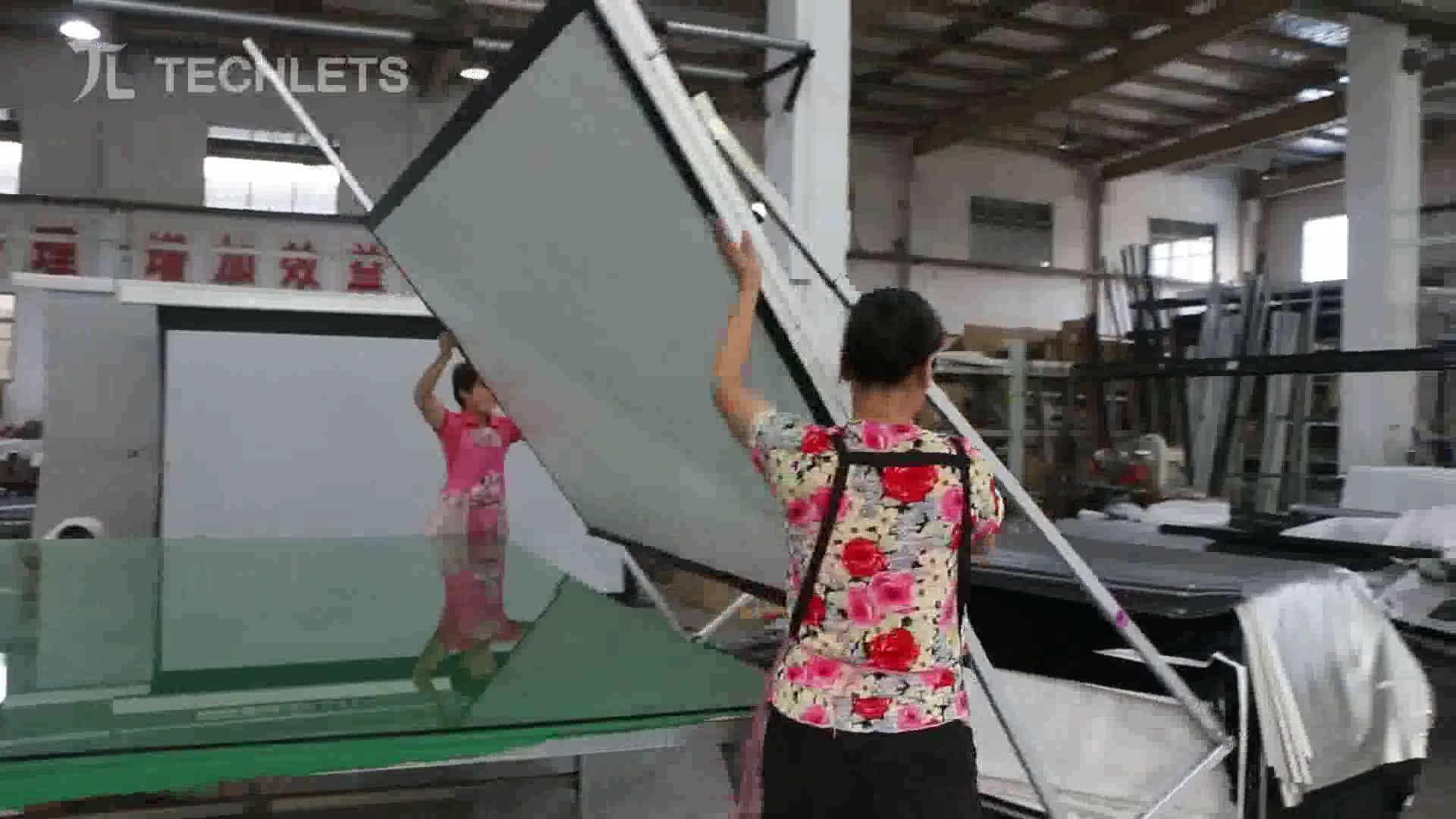 OEM ODM portable customized size fast folding projection screen with the rear view fabric 100inch 200inch 400inch