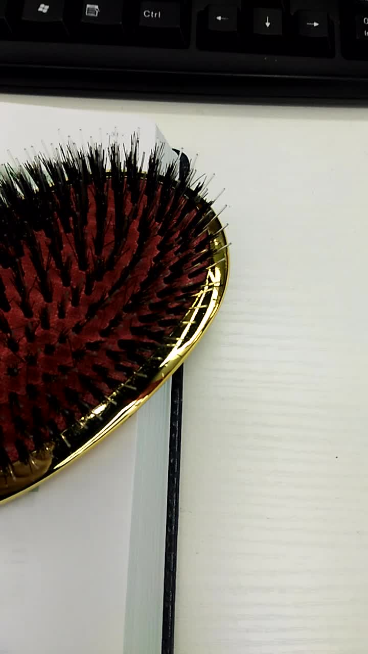Yaehsii Professional Hairdressing high quality Comb tangle  for hair combs Private Label Boar Bristle Brush