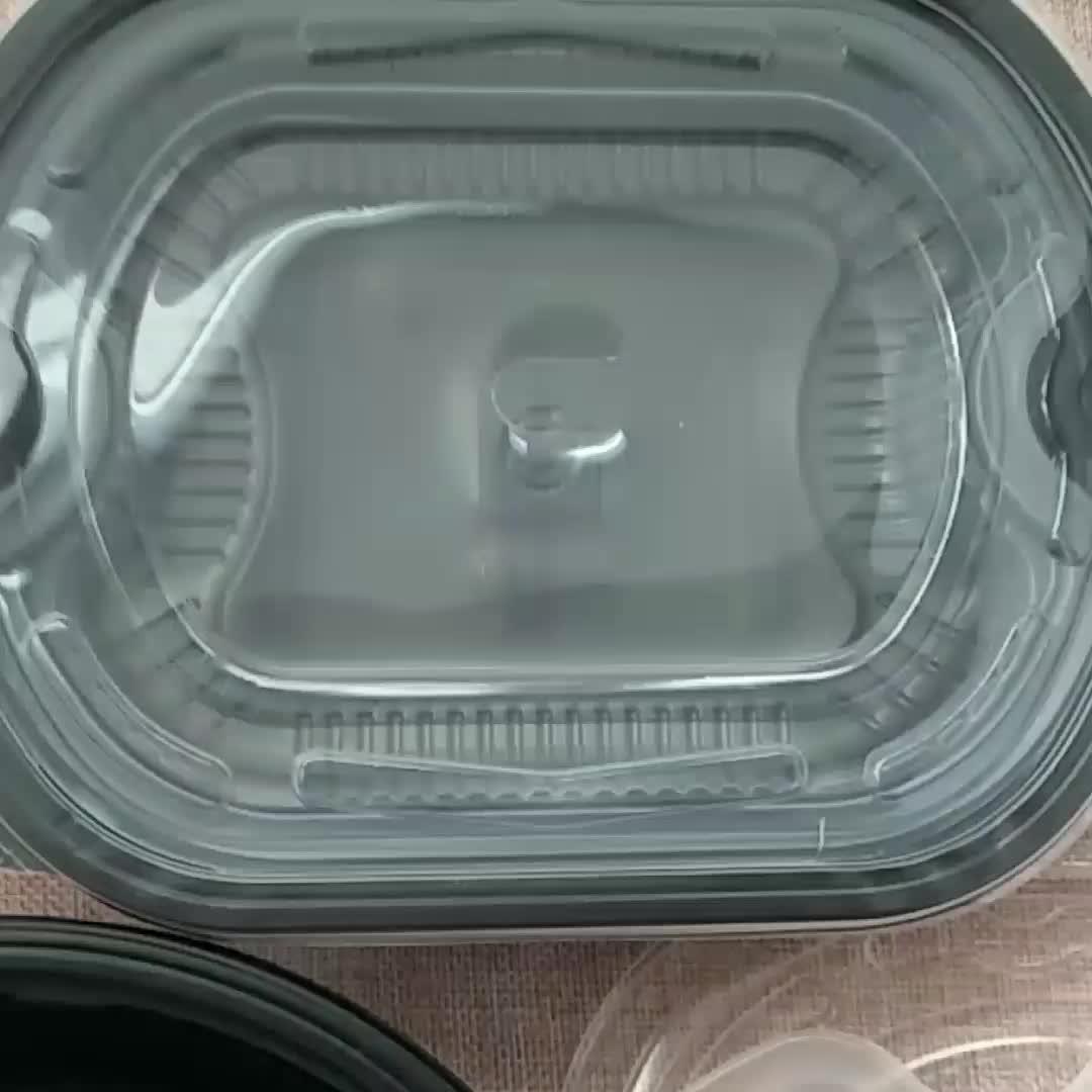 高品質のカスタマイズサイズ生分解性使い捨て学校給食ボックス