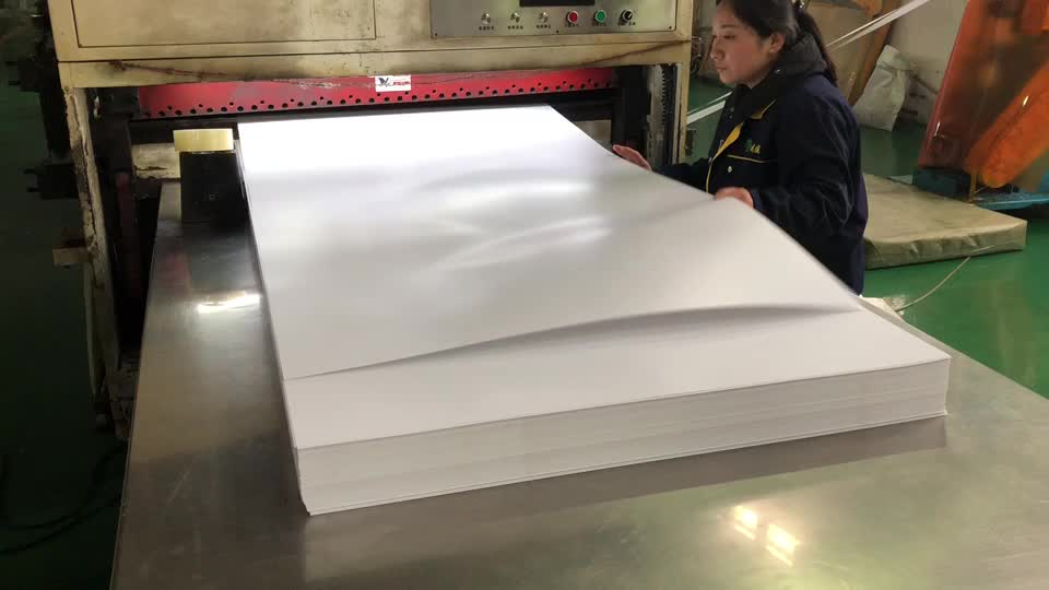 Factory Direct Sale Good Quality White PVC Glossy Sheet