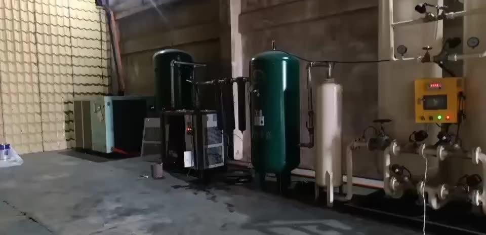 Liquid air generator liquid oxygen nitrogen gas plant