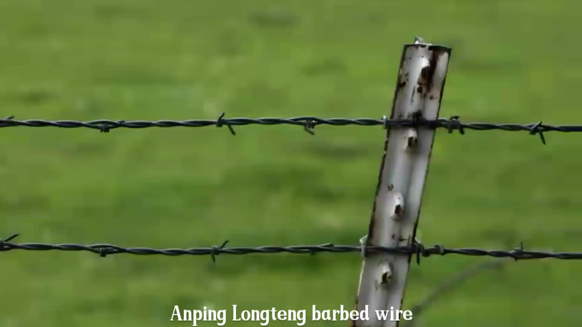 Iron Wire Material and Galvanized Surface Treatment razor blade/wire fencing