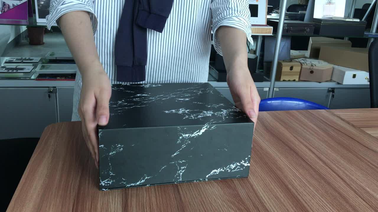 Mais escolha final hign personalizado 7 polegadas LCD cartão de controle de luz da tela de vídeo vídeo convite caixa de presente caixa de embalagem para jóias