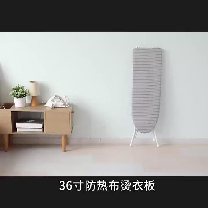 Tabla de planchar y tabla de planchar de madera plegable ajustable