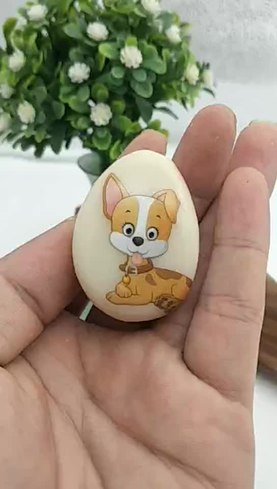 2019 new design cute dog shape promotion keychain with small MOQ