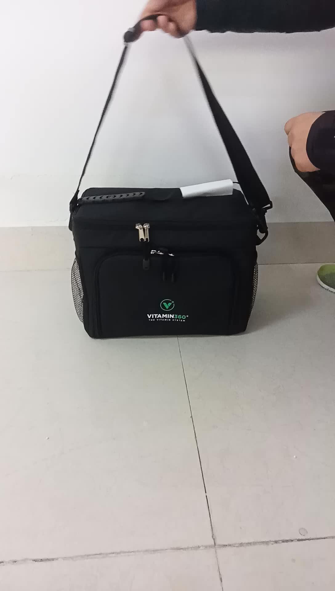 6er Pack Fitness Meal Prep Bag von Exbag - Isolierte Brotdose mit 6 BPA-freien Kontrollbehältern