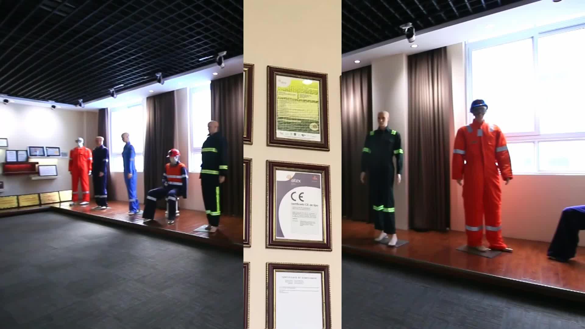 EN 11612 Cotone di Sicurezza Uniformi Da Lavoro Mining Per Wokers